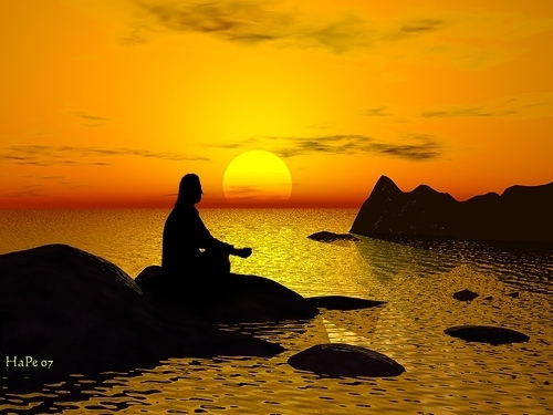 sunset meditationjpg